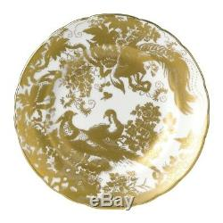 Gold Aves by Royal Crown Derby Salad Plate, NEW