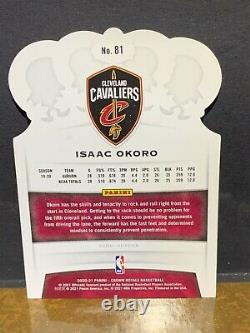 Isaac Okoro #1/4 Ssp Black Rc 2020-21 Crown Royale Fotl Cavaliers Pack Fresh