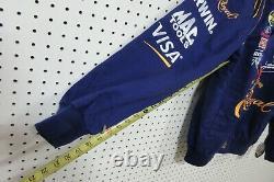 JH Designs Jeff Hamilton Nascar Men's Jacket Large 97 Crown Royal Cup Series