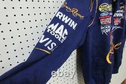Jeff Hamilton Men's Purple Nascar Jacket XL Crown Royal Cup Series 97 JH Designs