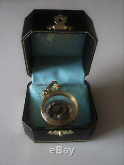 Juicy Couture Tiara Glass Case Charm Rare VHTF Crown Ring In Box Fairytale Royal