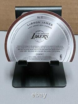 LeBron James 2020-21 Crown Royale Test Of Time #20/75 SSP Foil Die Cut FOTL