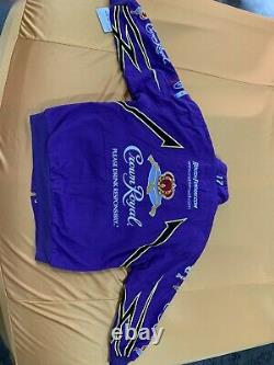 Matt Kenseth #17 Crown Royal Racing Jacket (Chase Authentics) Size XL NEW