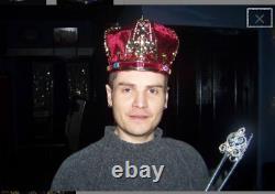 Men's Gold Royal King Crown