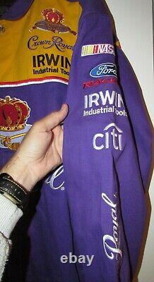 NASCAR Jamie McMurray Crown Royal Jacket Size XL by Chase Brand New NWT
