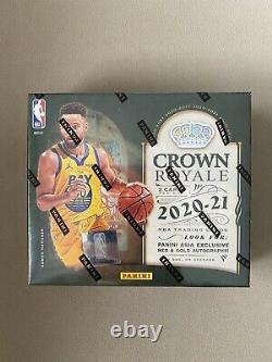 NBA 2020-21 Crown Royale Tmall Asia Exclusive Box NEW 6 Cards In Box