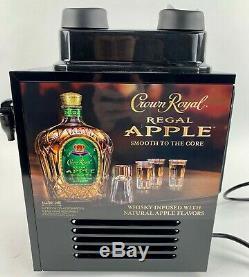 NEW Crown Royal Regal Apple 2 Bottle Shot Liquor Bar Dispenser Chiller Machine