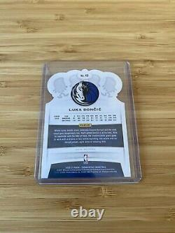 Nba Panini Card Luka Doncic Blue Royal Crown 26/99