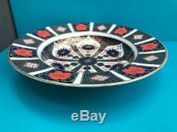New Royal Crown Derby 2nd Quality Old Imari 1128 Set of 6 x 8 Soup Bowls