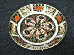New Set of 4 Royal Crown Derby Old Imari 1128 Shallow Bow / Small Dish Unused