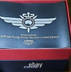 Oris Big Crown (Dual) Royal Flying Doctors Ltd Edition 0123/2000 Anti Reflection