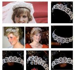 Princess Diana Spencer Tiara style Royal wedding tiara crown