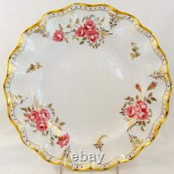 ROYAL PINXTON ROSES Royal Crown Derby 5 Piece Place Set NEW NEVER USED England