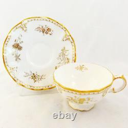ROYAL ST. JAMES by Royal Crown Derby CUP & SAUCER NEW NEVER USED made England