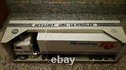Rare 1980s Nylint 911-Z GMC Astro RC Cola Semi truck promo box truck Royal Crown