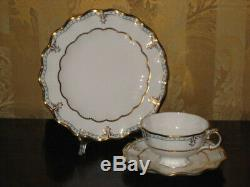 Royal Crown Derby 18 pc Lombardy A 1127 6 Cups + 6 Saucers + 6 Cake Plates