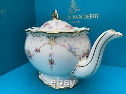 Royal Crown Derby 2nd Quality Antoinette Medium Teapot