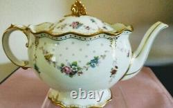 Royal Crown Derby Antoinette Large Teapot = Never Used
