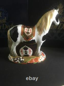 Royal Crown Derby Appleby Stallion And Mare
