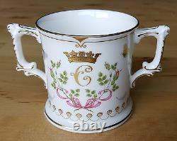 Royal Crown Derby Birth of Princess Charlotte, Four Piece Set