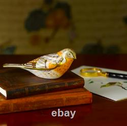 Royal Crown Derby Brambling Bird Paperweight Brand New Boxed 1st Quality