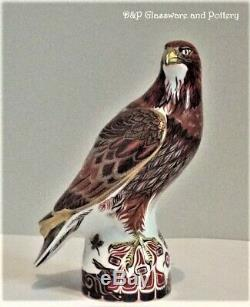 Royal Crown Derby Golden Eagle limited edition of 750 paperweight