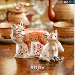 Royal Crown Derby Mother Fox Paperweight Brand New Boxed 1st Quality