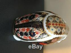 Royal Crown Derby OLD IMARI 1128 ELEPHANT Paperweight