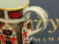 Royal Crown Derby Old Imari 1128 Minature 7 Pce Tea Set Unused Boxed
