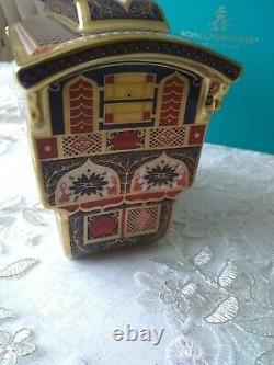 Royal Crown Derby Old Imari 2021 imari gold band Vardo new gypsy wagon