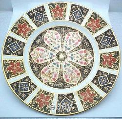 Royal Crown Derby Old Imari Imari Evening Star Holiday Accent Plate -NEW