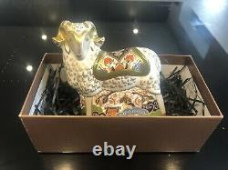 Royal Crown Derby Paperweight IMARI RAM 1st quality Special Edition