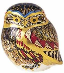 Royal Crown Derby Paperweight The Little Owl 1st Quality Brand New Boxed