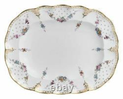 Royal Crown Derby Royal Antoinette Oval Plate / Platter 240563N