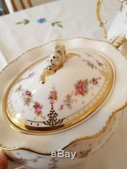 Royal Crown Derby Royal Antoinette Teapot Large(120cl)