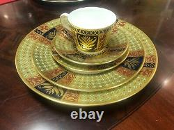 Royal Crown Derby Veronese 5 piece place setting (demi tasse cup)