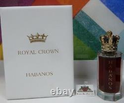 Royal Crown Habanos Extrait De Parfum Concentree 3.4 Oz /100 ML Spray New In Box
