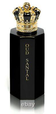Royal Crown Oud Santal Extrait De Parfum 3.4 Oz / 100 ML Spray New In Box