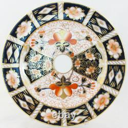 TRADITIONAL IMARI by Royal Crown Derby Footed Cup & Saucer 2.6 NEW NEVER USED