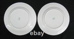 Unused 6 Royal Crown Derby Traditional Imari Luncheon Plates Tiffany & Co. MINT