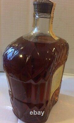 Whisky Crown Royal da 1 litro di Seagrams del 1970